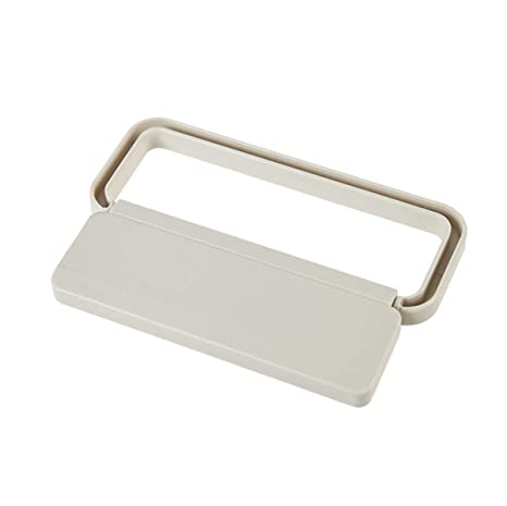 Teabelle toallero Barra plástico Plegable Perchero Adhesivo para Colgar Toalla Trapo y repasador en Cocina baño