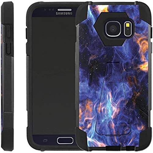 Blue Space [Advance] Rugged [Duel Layer] Hybrid Hard Soft rubber Protective Case [Heavy Duty] Cover drops and impacts for Galaxy S7 S 7 Sales