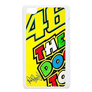 iPod Touch 4 Case White Valentino Rossi L0540340