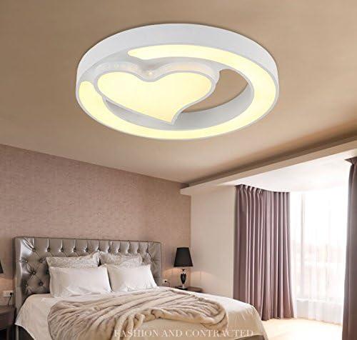 Illuminazione Camera Da Letto Matrimoniale.Hhch Lampada Da Soffitto Circolare Lampade Camera Da Letto