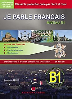 JPF Je parle français DELF B1 LIVRE CORRIGES 3CD