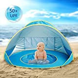 Best Beach Tents For Babies - Hoomall Baby Beach Tent Pop Up Collapsible Portable Review