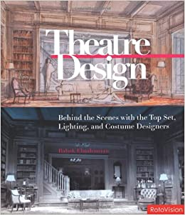 theatre design behind the scenes with the top set lighting and