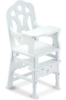ikea doll furniture. Melissa \u0026 Doug 9382 White Wooden 20-Inches Tall Doll High Chair Ikea Furniture