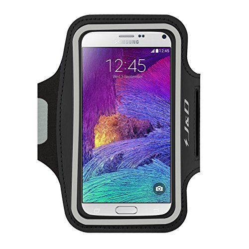 Sports Armband for Samsung Galaxy Note 4 (Black) - 2