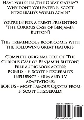 The Curious Case of Benjamin Button by F Scott Fitzgerald ...