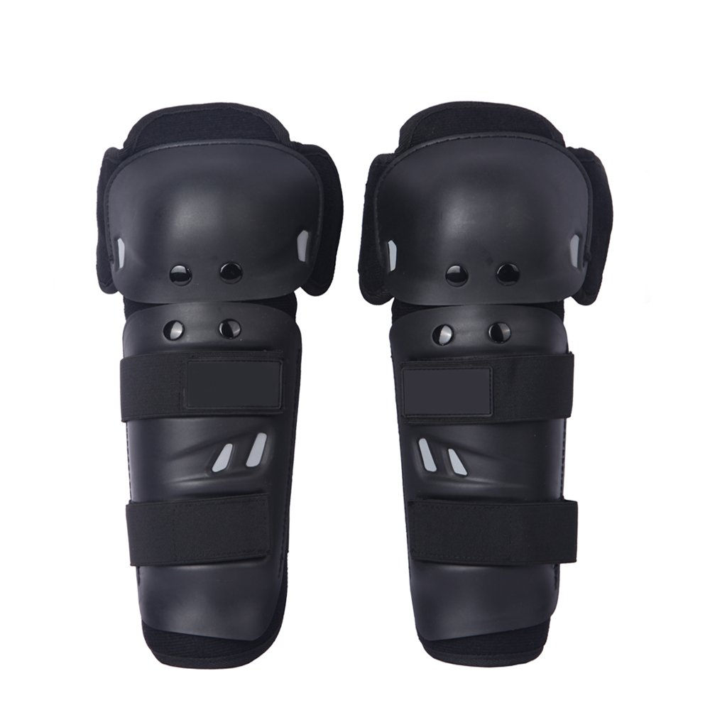 Adult Knee/Shin Guard Motocross Body Protection Motorcycle Knee Protector Black