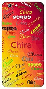 Chira (Permanently) Name & Sign Printed All over customize & Personalized!! Protective back cover for your Smart Phone : Moto X-STYLE