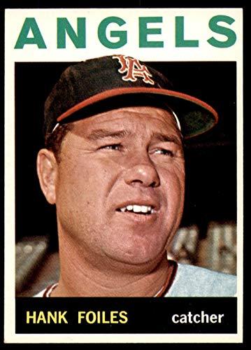 (1964 Topps #554 Hank Foiles Near Mint Angels High Number)