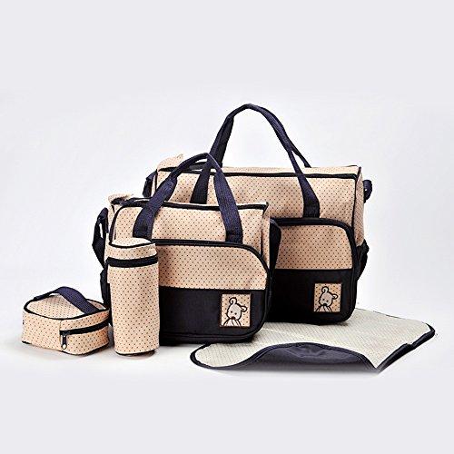 Global- Las mujeres embarazadas multifunción Saliendo mochila, tela impermeable de gran capacidad paquete de la momia, de la manera extraña de viaje esencial multifunción mochila ( Color : # 4 ) # 4