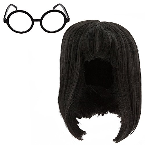 Disney Edna Mode Wig and Eyeglasses Set for Adults - Incredibles 2 Multi by Disney
