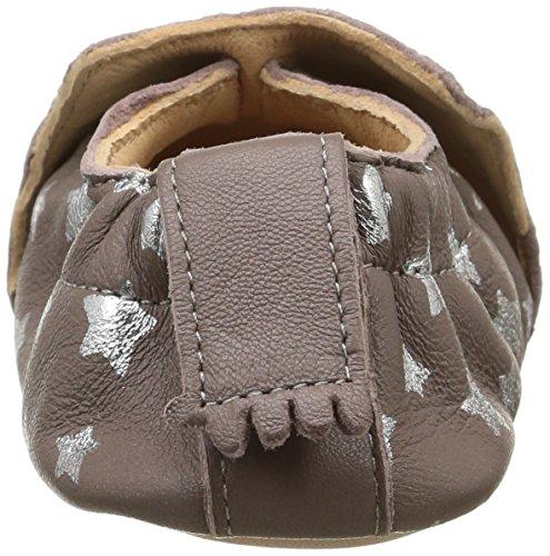 Easy PeasyBlumoo - Zapatos de Bebé Bebé-Niños Marrón - Marron (593 Ecorce/Argent/Nuit)