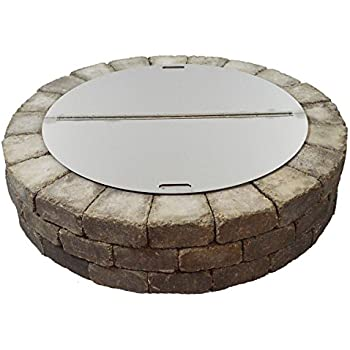 Amazon Com 40 Quot Round Stainless Steel Fire Pit Snuffer