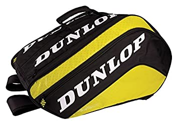 DUNLOP Paletero Tour Grande - Bolsa paletero, Color Negro/Amarillo: Amazon.es: Deportes y aire libre