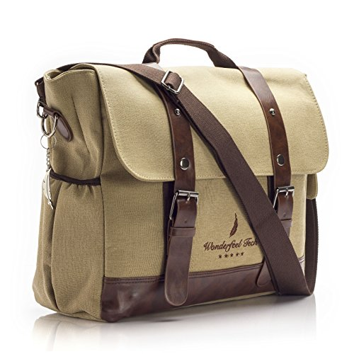 vintage-style-laptop-messenger-bag-multipurpose-ergonomic-lightweight-design-safe-shockproof-sleeve-