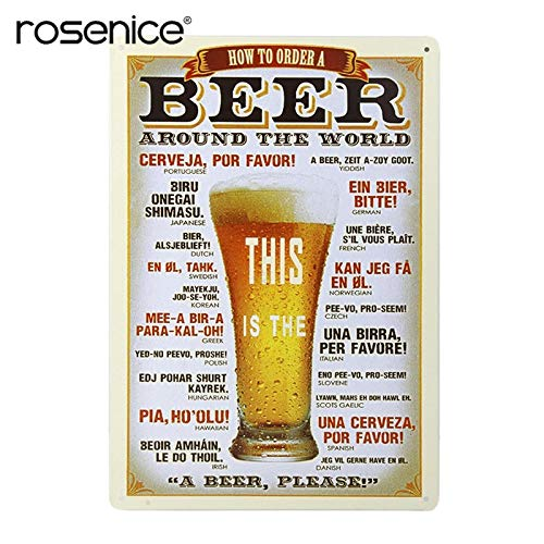Casavidas Marca de cerveza retro Whisky Metal Poster Wall Art pintura placa para Bar Pub inicio decorativos carteles de chapa