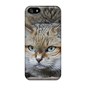Hot S Cat First Grade Phone Cases For Iphone 5/5s Cases Covers