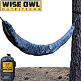 Sporting Goods : Wise Owl Outfitters Hammock Sleeve - Snakeskin Defender Protective Storage Rain Cover - Waterproof & UV Protection for Hammocks, Rain Fly, Tarps and Camping Gear Accessories