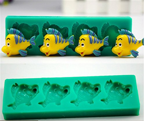 SNW Cartoon Fondant Mold Soap Embossed Printing Silicone Bakeware Chocolate Mold Cake Decoration