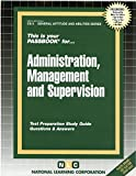 img - for Civil Service Administration, Management And Supervision, CS-3 (General Aptitude and Abilities Series) (Passbooks) 2015 Edition book / textbook / text book