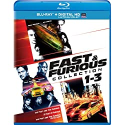 Fast & Furious Collection: 1-3 [Blu-ray]