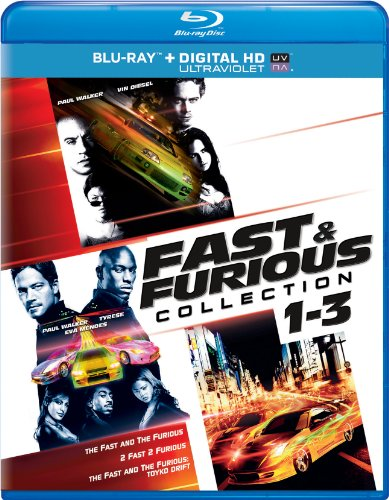 Fast & Furious Collection: 1-3 (The Fast and the Furious / 2 Fast 2 Furious / The Fast and the Furious: Tokyo Drift) (Blu-ray + DIGITAL HD with UltraViolet)