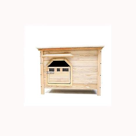 Mediano Sin puerta Sin ventana Cubo interior de interior de exterior Casa de perro de perrera
