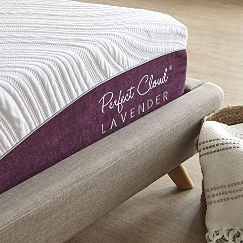 home, kitchen, furniture, bedroom furniture, mattresses, box springs,  mattresses 3 on sale Perfect Cloud Lavender Bliss 10-inch Memory Foam deals
