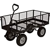 Cheap Strongway Jumbo Wagon – 48in.L x 24in.W, 1,400-Lb. Capacity
