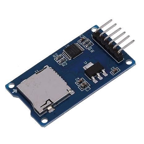 Demarkt SPI Leser Micro Speicher SD TF Karte Speicherkarte Schild Modul f/ür Arduino
