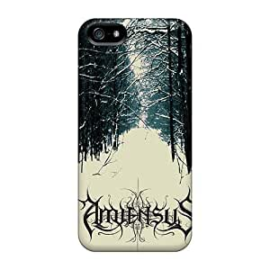Perfect Cell-phone Hard Covers For Iphone 5/5s (MTA20414RxLh) Provide Private Custom Fashion Insomnium Band Image