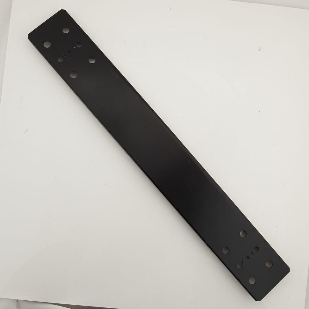 Craftsman T16770-EBK Tool Chest Caster Channel Genuine Original Equipment Manufacturer (OEM) Part for Craftsman, Black