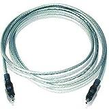 Belkin 6-Feet 4-Pin to 4-Pin Firewire Cable, F3N402-06-ICE