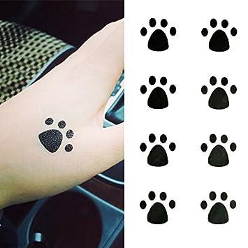 Oottati Tatuajes Temporales Huellas Mano (Juego De 2): Amazon.es ...