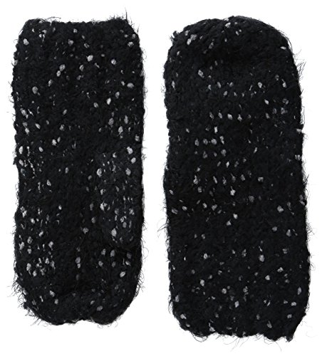 Cuddl Duds Women's Cuddl Soft Mitten, Black, One Size