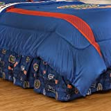 NCAA Florida Gators Bed Skirt, Twin, Bright Blue