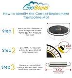 13ft x 13ft Square Premium Trampoline Mat with 84