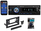1-Din Digital Media Bluetooth AM/FM/MP3/USB/SD Receiver For 1987-93 Ford Mustang