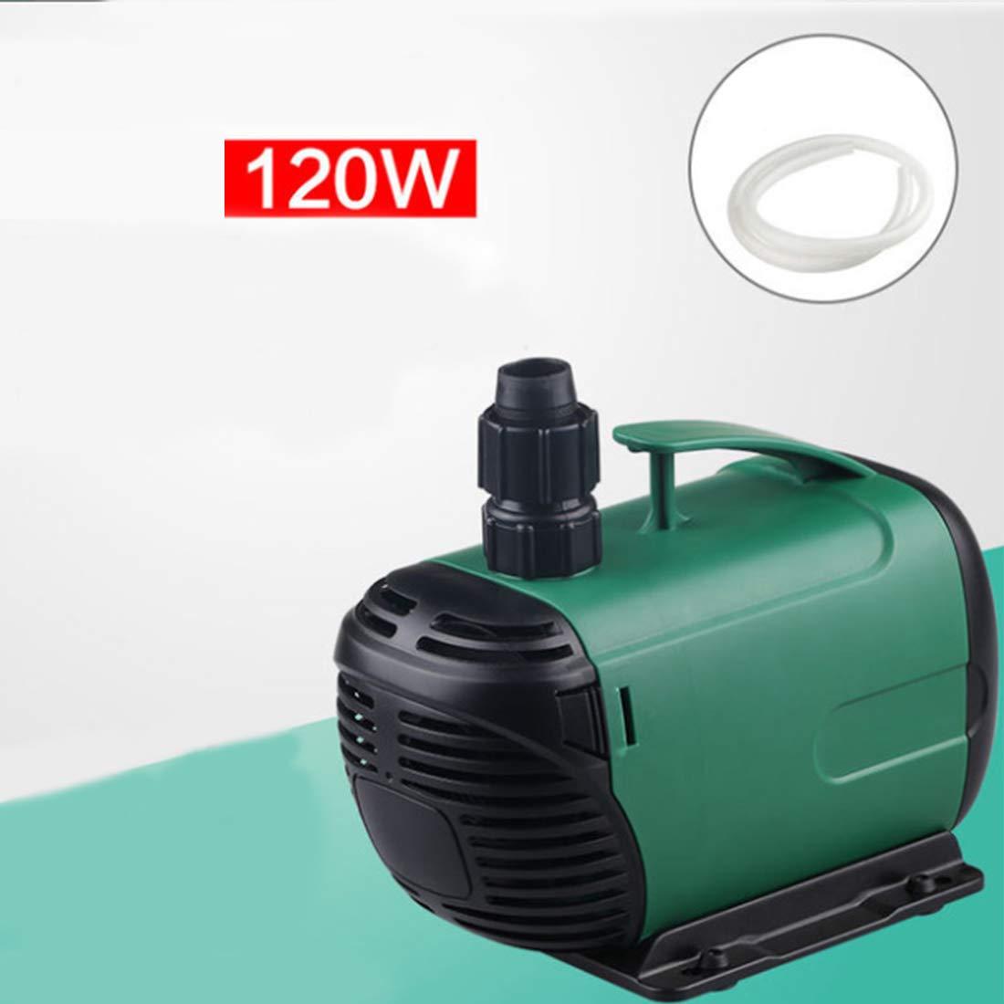 120W FELICIPP Submersible Pump 1400L-6800L Hr, Fountain Water Pump for Fish Tank, Hydroponics,Aquarium (Wattage   120W)
