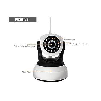 Cámara de vigilancia inalámbrica WiFi Cámaras de vigilancia IP domésticas Detección móvil de alarma de dos