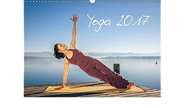 Yoga Wandkalender 2017 DIN A3 quer : Meditatives Yoga am See ...