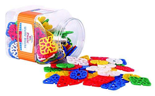- Learning Advantage 7021 Waffle Blocks (Pack of 145)