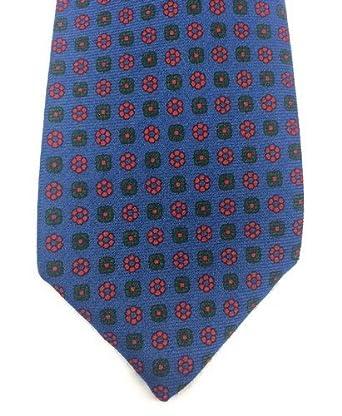 Real Luxury Napoli - Corbata de 3 pliegues de lana, fondo de color ...