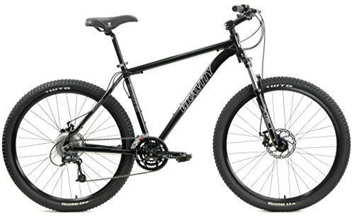 Gravity 27Five G1 27.5 Disc Brake 27 Speed Front Suspension Mountain Bike (Orange, 21