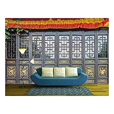 With a Professional Touch, Gorgeous Object of Art, Antique Carved Wooden Doors Wall Decor