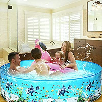 Brightsen Inflatable Swimming Pool Family Swimming Pool Swim Center for Kids Thickened Safe Baby Paddling Pool Toy with Repair Patch for Summer Water Fun Family Lounge Pool: Home & Kitchen