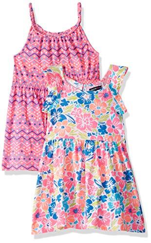 Limited Too Girls' Big 2 Pack Knit Dress Set, Floral Multi, 10