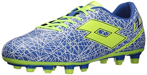 Lotto Men's Zhero Gravity 700 Soccer Cleat-M, Blue/White/Yellow 8.5 M US (Lotto Soccer Boots)