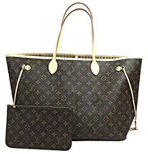 6. A Monogram Canvas Neverfull GM by Louis Vuitton