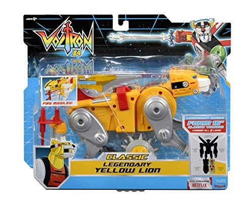Voltron Classic Combining Yellow Lion Action Figure